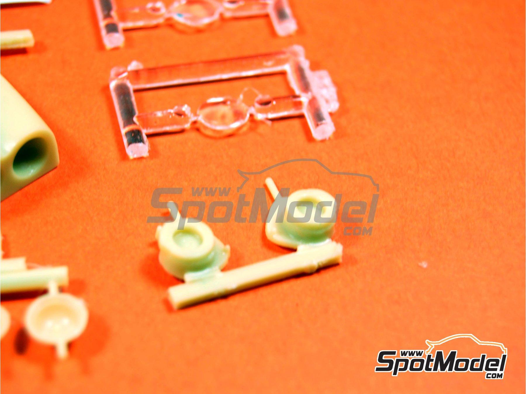 Image 5: Subaru Impreza Grupo A - Juego de luces de noche   Transkit en escala1/24 fabricado por Renaissance Models (ref.TK24-283)