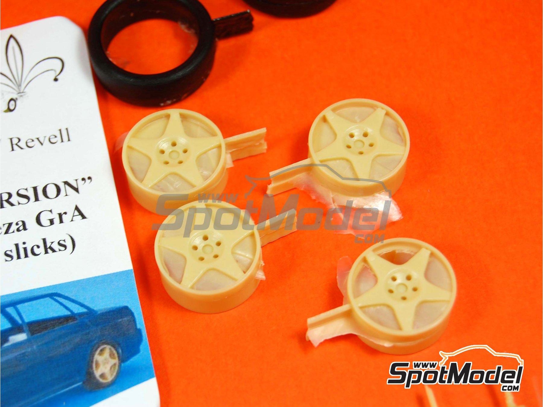 Image 4: Subaru Impreza Group A - Subaru Legacy Group A | Tarmac conversion set in 1/24 scale manufactured by Renaissance Models (ref.TK24-290)