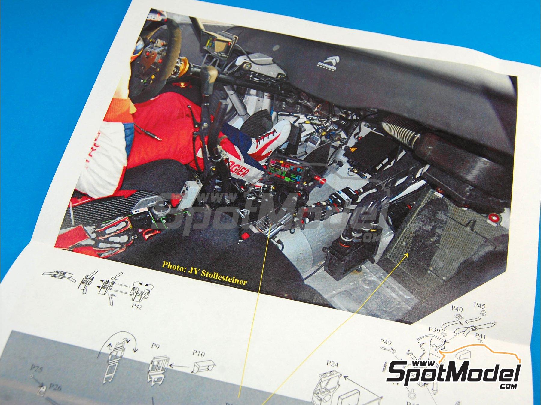 Image 2: Citroen DS3 WRC   Set de mejora y detallado en escala1/24 fabricado por Renaissance Models (ref.TK24-342)