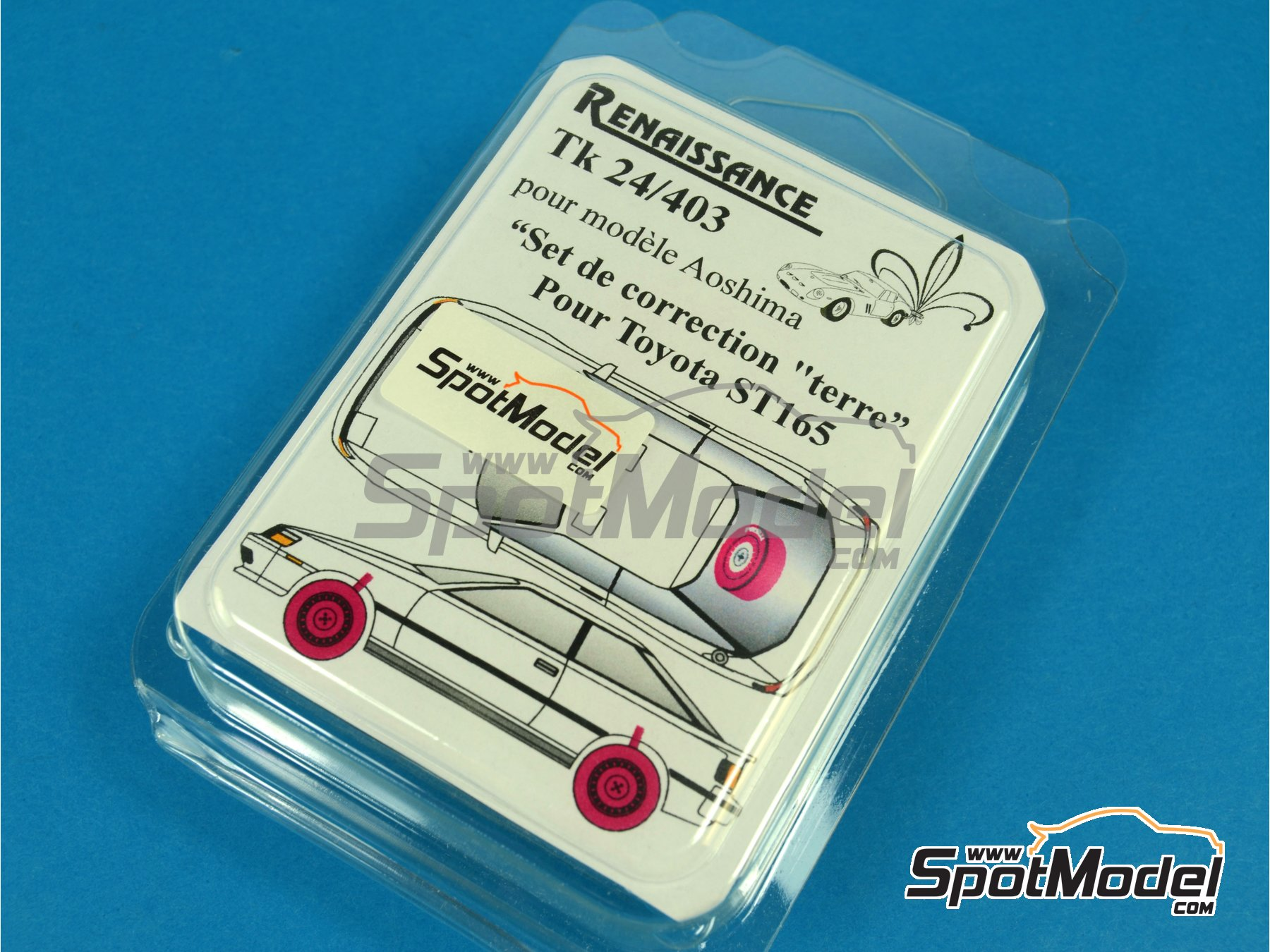 Image 1: Toyota Celica GT-Four ST165 | Transkit in 1/24 scale manufactured by Renaissance Models (ref.TK24-403)