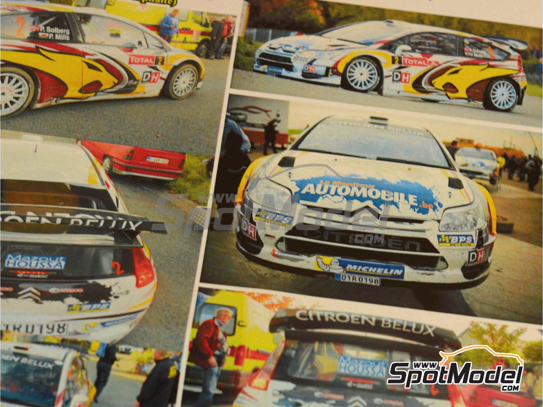 Image 8: Citroen C4 WRC Marc VDS - Rally Condroz de Bélgica 2014   Calcas de agua en escala1/24 fabricado por Renaissance Models (ref.TK24-408)
