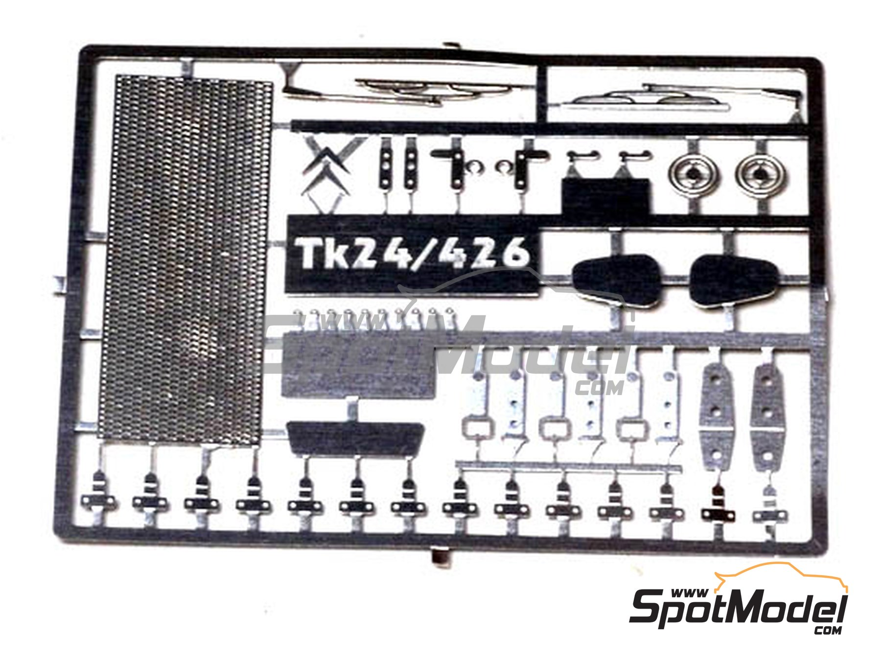 Image 1: Citroën Mehari | Detail up set in 1/24 scale manufactured by Renaissance Models (ref.TK24-426)