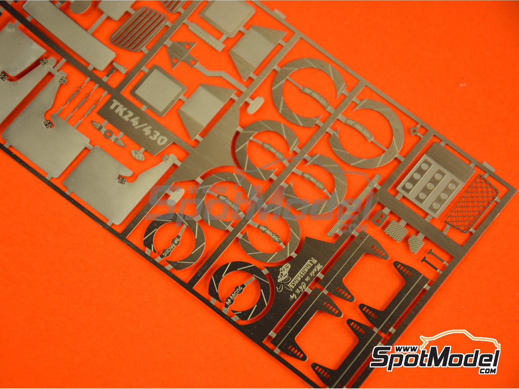 Image 1: Subaru Impreza WRX | Detail up set in 1/24 scale manufactured by Renaissance Models (ref.TK24-430)