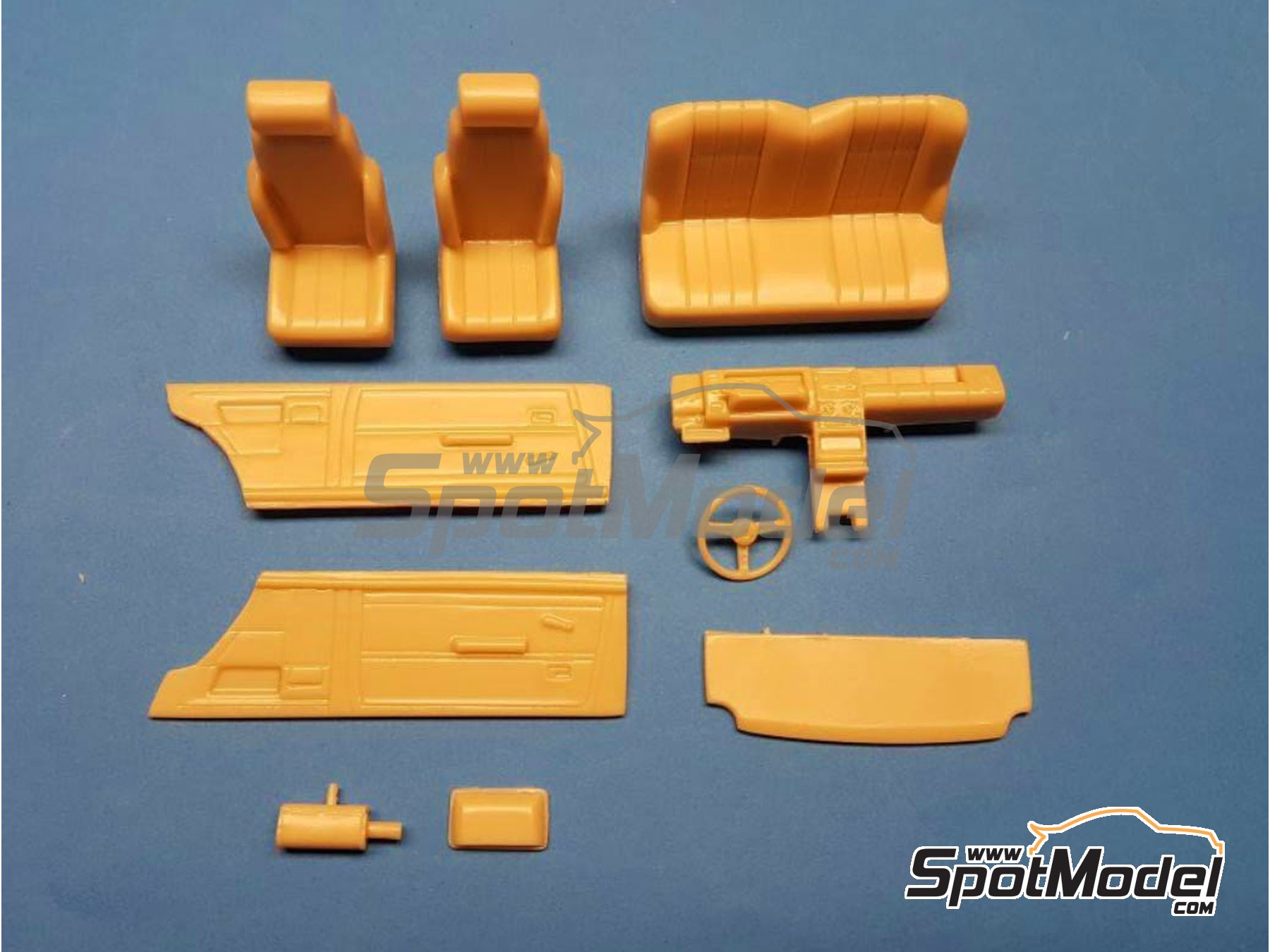 Image 1: Renault R5 Alpine Turbo | Transkit in 1/24 scale manufactured by Renaissance Models (ref.TK24-449)
