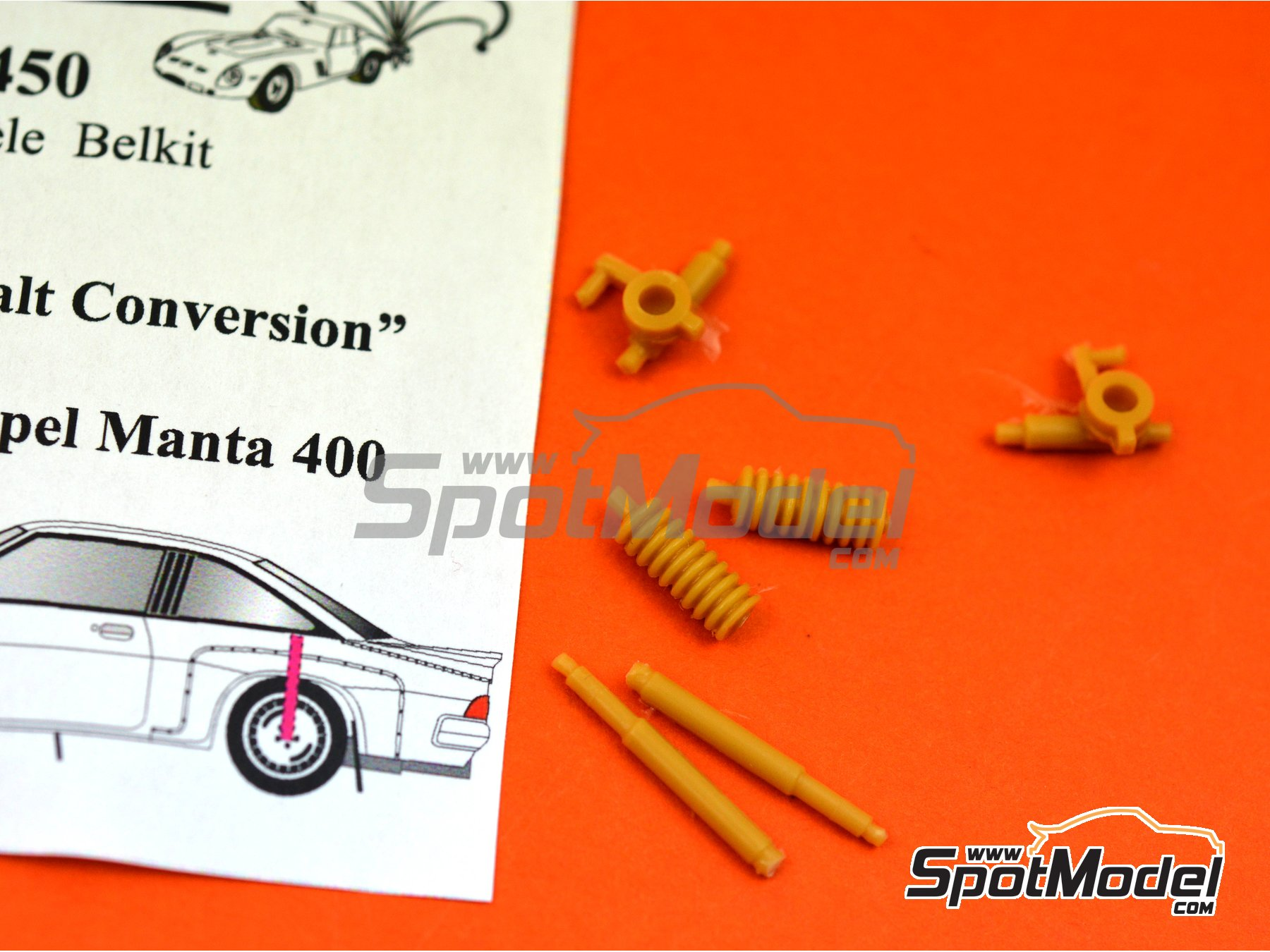 Image 3: Opel Manta 400 Group B | Tarmac conversion set in 1/24 scale manufactured by Renaissance Models (ref. TK24-450)