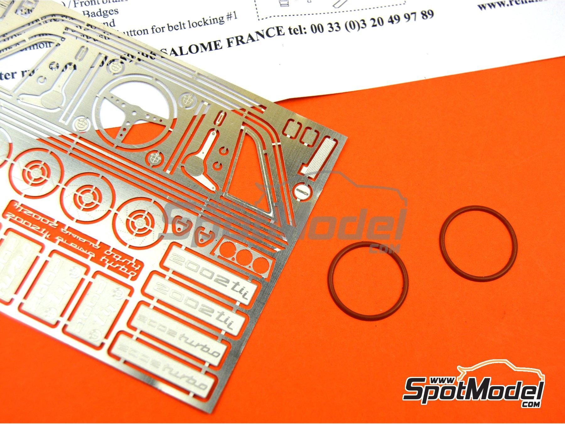 Image 4: BMW 2002 Tii / Turbo | Set de mejora y detallado en escala1/24 fabricado por Renaissance Models (ref.TK24-451)