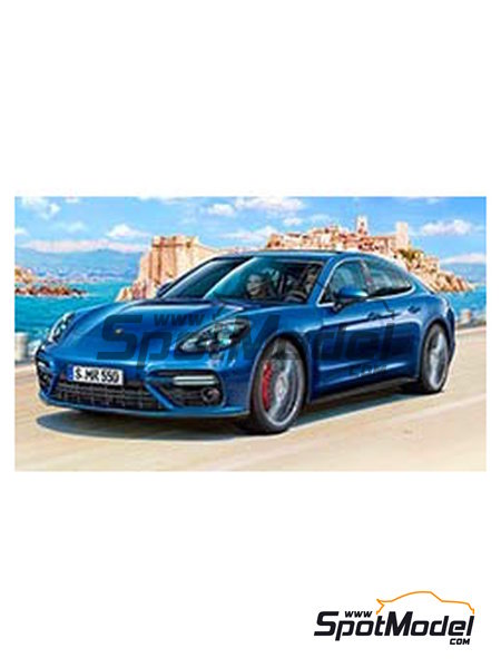 Porsche Panamera 2 | Model kit in 1/24 scale manufactured by Revell (ref.REV07034) image