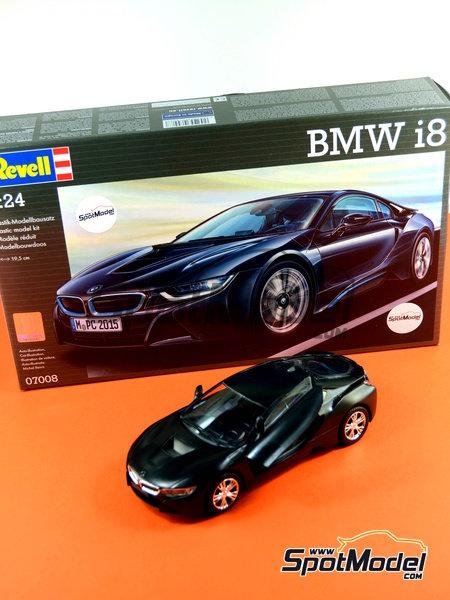 BMW i8 | Maqueta de coche en escala1/24 fabricado por Revell (ref.REV07008, tambien 07008 y 80-7008) image