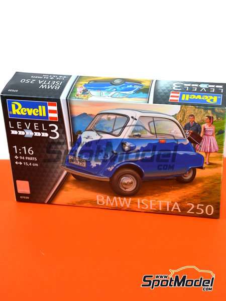BMW Isetta | Model car kit in 1/16 scale manufactured by Revell (ref. REV07030) image