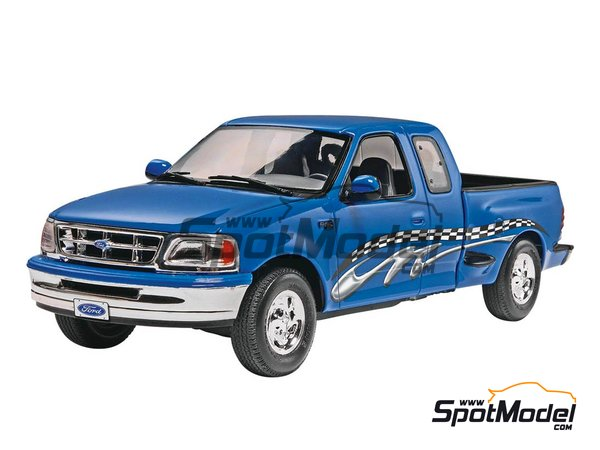 Image 1: Ford F-150 XLT -  1997 | Model car kit in 1/25 scale manufactured by Revell (ref. REV07045)