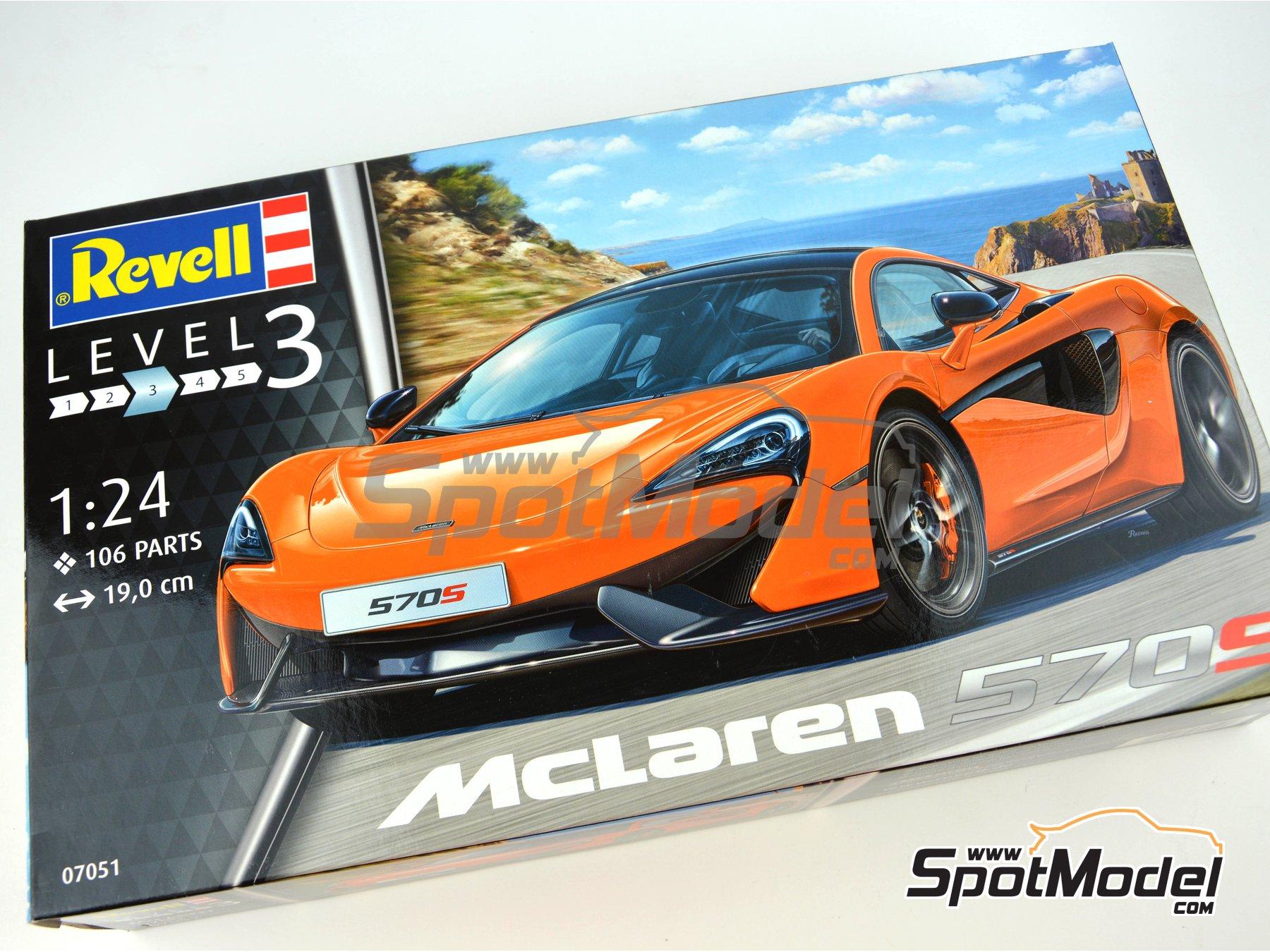 Image 12: McLaren 570S | Maqueta de coche en escala1/24 fabricado por Revell (ref.REV07051)