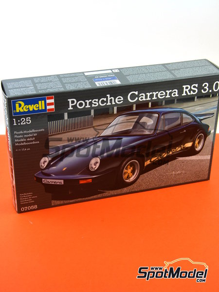 Porsche 911 Carrera RS 3.0 | Model car kit in 1/25 scale manufactured by Revell (ref. REV07058) image