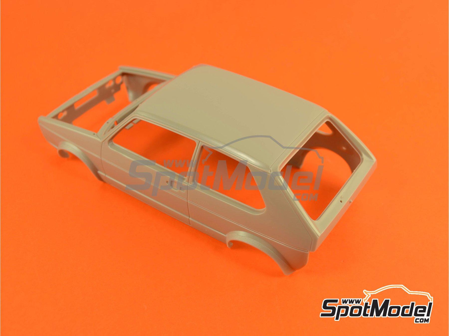 Image 6: Volkswagen Golf I GTI | Maqueta de coche en escala1/24 fabricado por Revell (ref.REV07072, tambien 07072 y 80-7072)