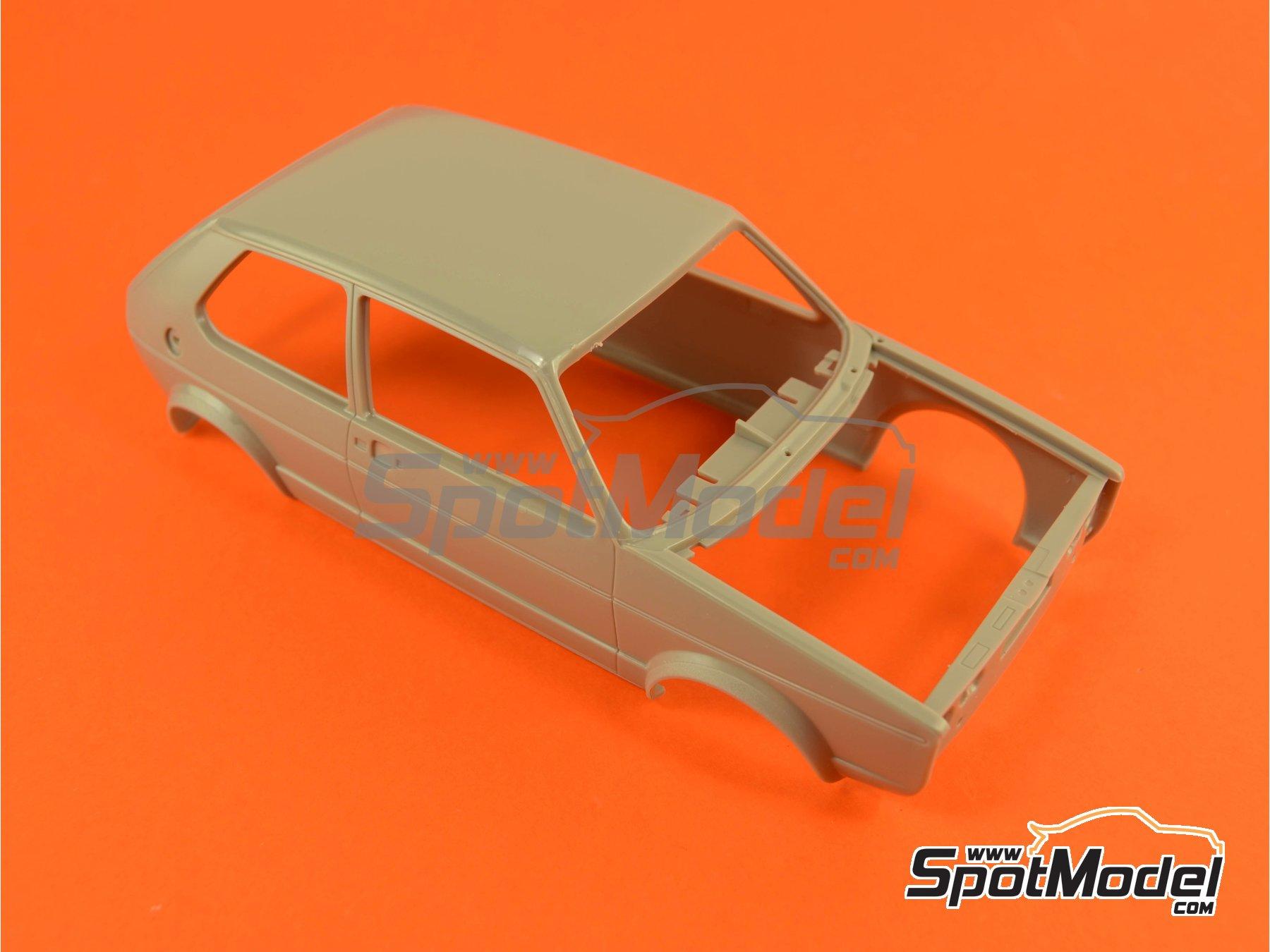 Image 8: Volkswagen Golf I GTI | Maqueta de coche en escala1/24 fabricado por Revell (ref.REV07072, tambien 07072 y 80-7072)