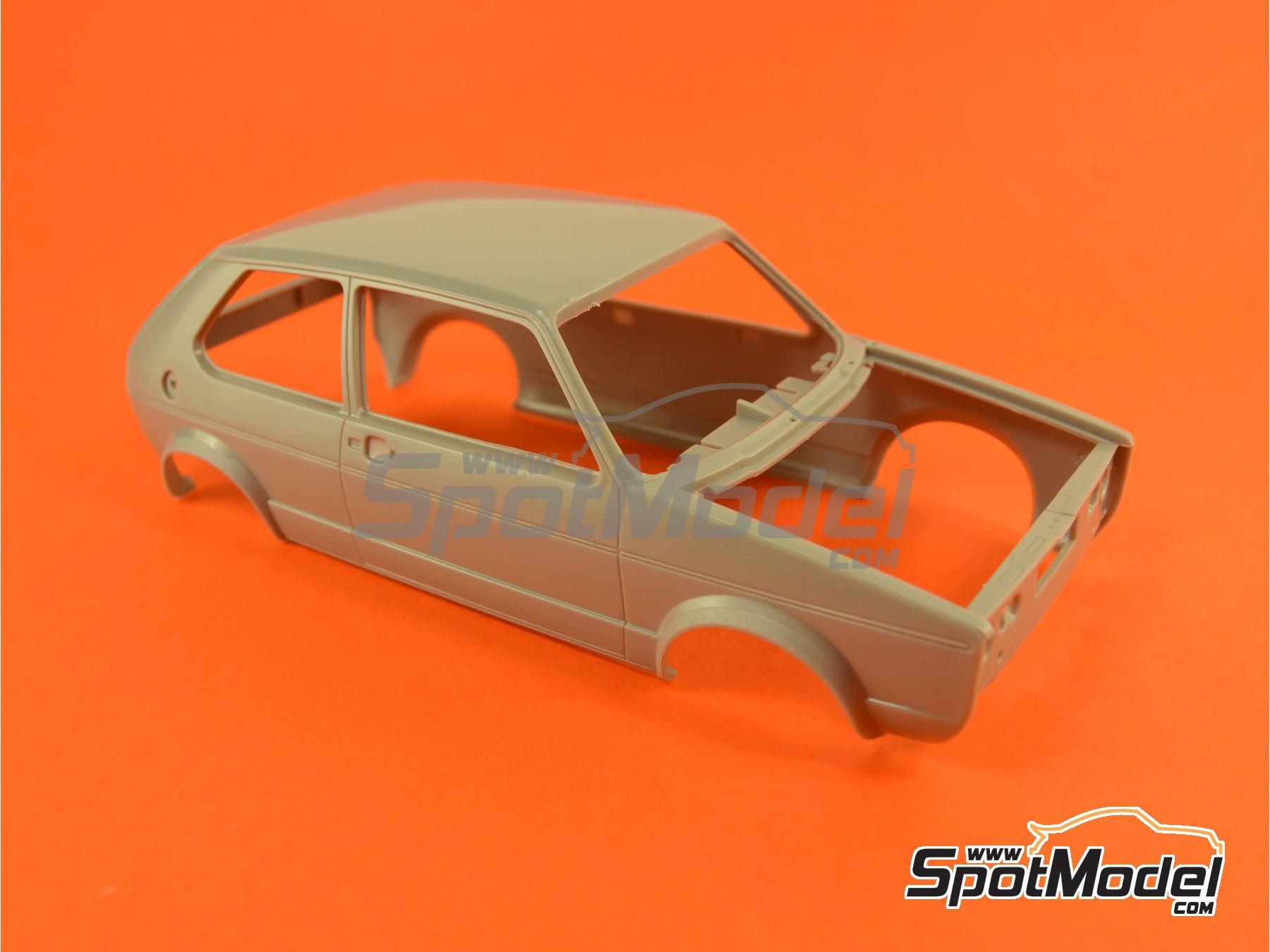 Image 9: Volkswagen Golf I GTI | Maqueta de coche en escala1/24 fabricado por Revell (ref.REV07072, tambien 07072 y 80-7072)