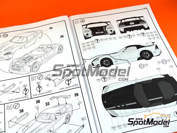 Image 11: Dodge Viper SRT 10 ACR | Model car kit in 1/25 scale manufactured by Revell (ref. REV07079)