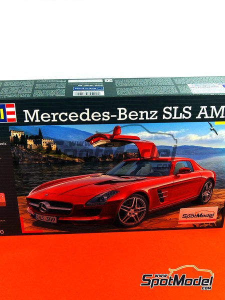 Mercedes Benz SLS AMG | Model Car Kit In 1/24 Scale Manufactured By
