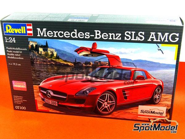 Image 1: Mercedes Benz SLS AMG | Model Car Kit In 1/24 ...