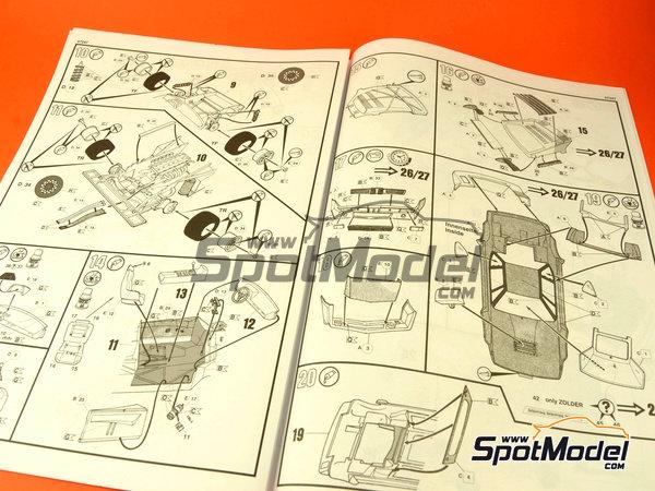 Image 2: BMW M1 Grupo 4 Procar - Zolder DRM 1979 y 2008 | Maqueta de coche en escala1/24 fabricado por Revell (ref.REV07247, tambien 07247 y 80-7247)