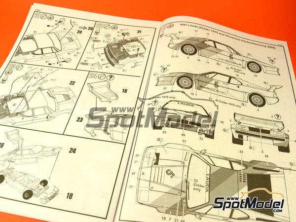 Image 3: BMW M1 Grupo 4 Procar - Zolder DRM 1979 y 2008 | Maqueta de coche en escala1/24 fabricado por Revell (ref.REV07247, tambien 07247 y 80-7247)