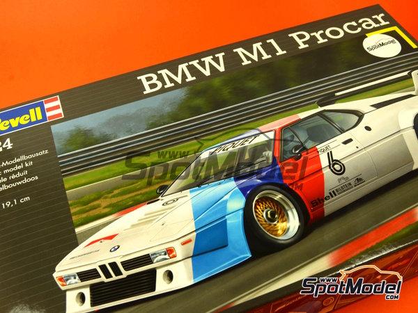 Image 11: BMW M1 Grupo 4 Procar - Zolder DRM 1979 y 2008 | Maqueta de coche en escala1/24 fabricado por Revell (ref.REV07247, tambien 07247 y 80-7247)
