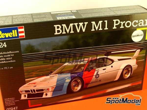Image 12: BMW M1 Grupo 4 Procar - Zolder DRM 1979 y 2008 | Maqueta de coche en escala1/24 fabricado por Revell (ref.REV07247, tambien 07247 y 80-7247)
