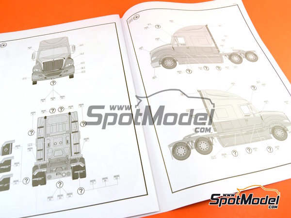 revell model truck kit 1 25 scale international prostar image 36 international prostar model truck kit in 1 25 scale manufactured by
