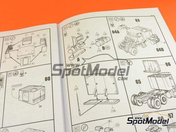 Image 16: Peterbilt 359 Conventional | Maqueta de camión en escala1/25 fabricado por Revell (ref.REV07412)