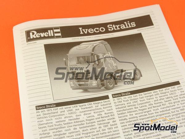 Image 9: Iveco Stralis | Maqueta de camión en escala1/24 fabricado por Revell (ref.REV07423, tambien 07423 y 80-7423)
