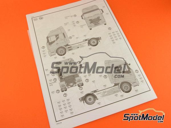 Image 16: Iveco Stralis | Maqueta de camión en escala1/24 fabricado por Revell (ref.REV07423, tambien 07423 y 80-7423)