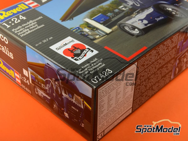 Image 17: Iveco Stralis | Maqueta de camión en escala1/24 fabricado por Revell (ref.REV07423, tambien 07423 y 80-7423)