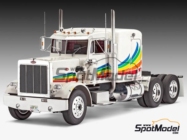 Image 2: Peterbilt 359 Conventional | Model truck kit in 1/16 scale manufactured by Revell (ref. REV07455)