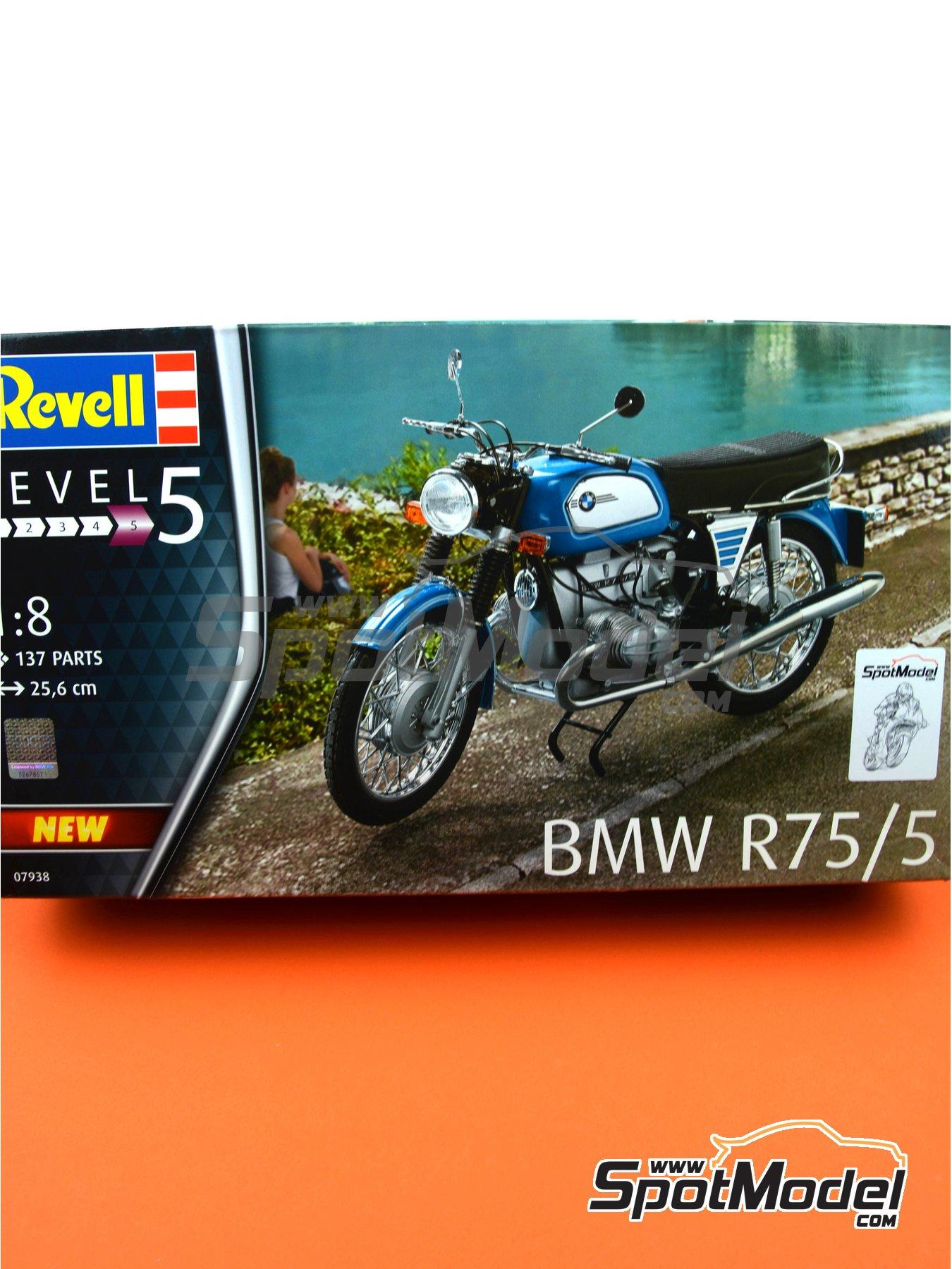 BMW R75/5 | Maqueta de moto en escala1/8 fabricado por Revell (ref.REV07938) image