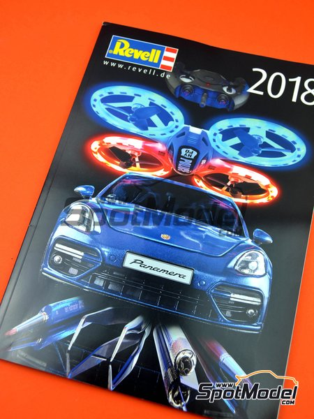 Revell catalog -  2018 | Catalogue manufactured by Revell (ref. REV95230) image