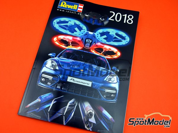 Image 1: Revell catalog -  2018 | Catalogue manufactured by Revell (ref. REV95230)