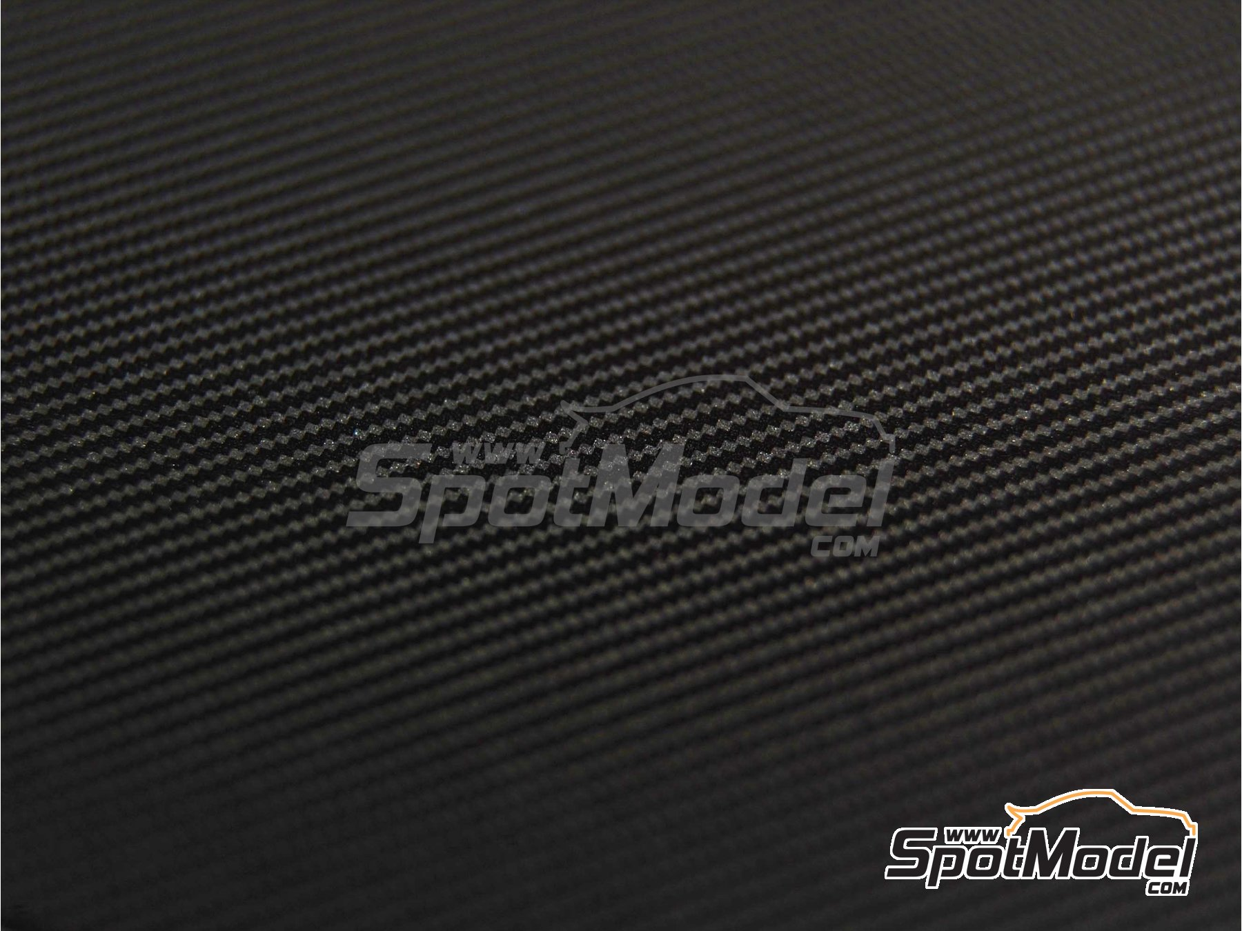 Image 6: Carbon fiber twill weave black on pewter big size pattern | Decals in 1/20 scale manufactured by Scale Motorsport (ref. SM1020)