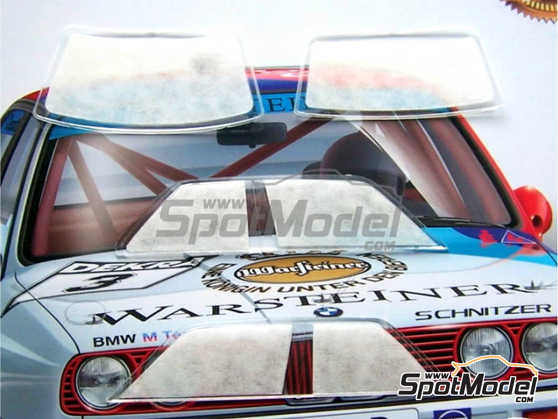Image 1: BMW M3 E30 | Máscaras en escala 1/24 fabricado por Scale Production (ref. SP24-SR009)