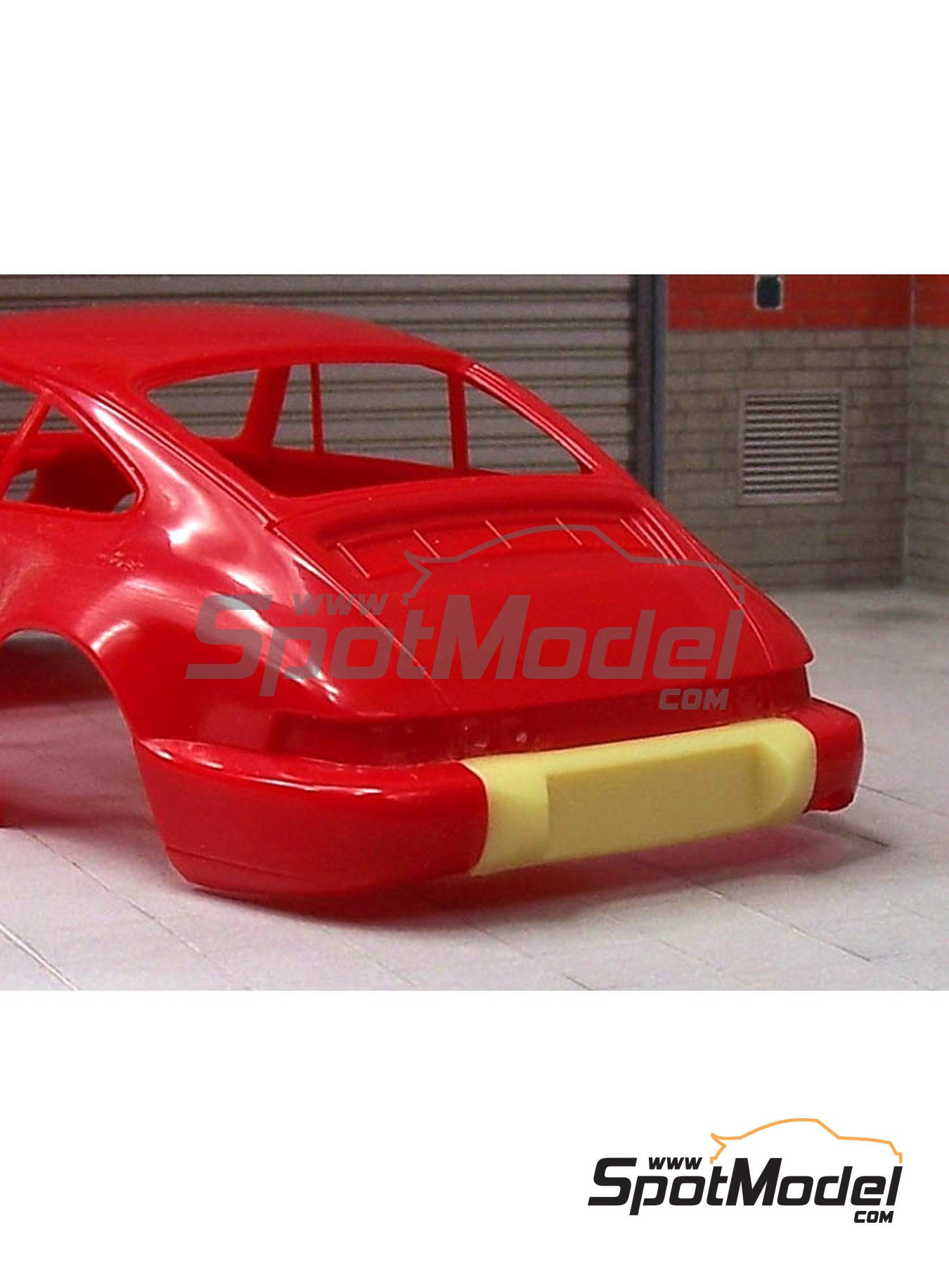 Porsche 964 RS bumper | Transkit in 1/24 scale manufactured by Scale Production (ref. SP24231) image