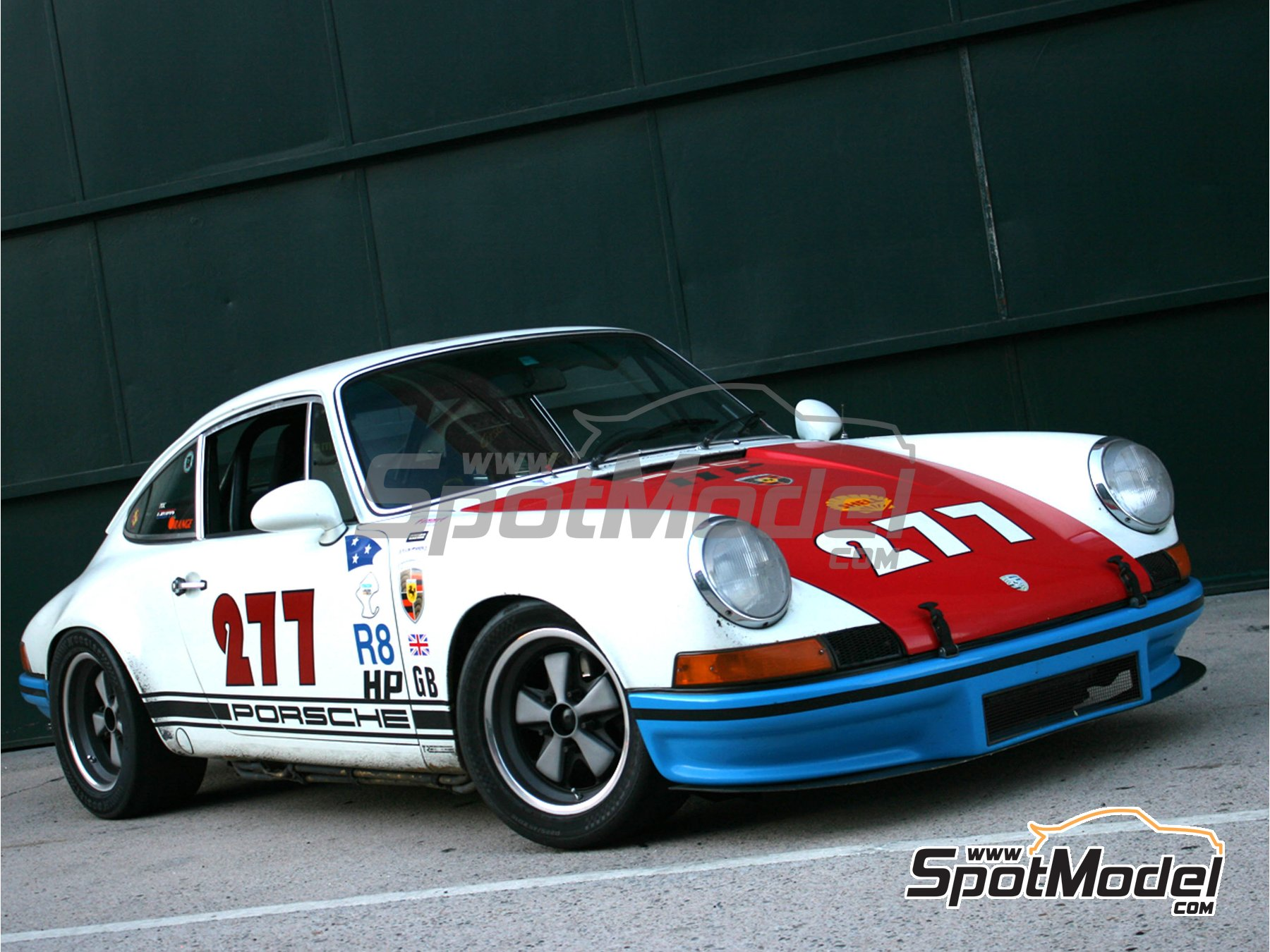 Image 2: Porsche 911 Magnus Walker STR -  1971 | Marking / livery in 1/24 scale manufactured by Scale Production (ref. SPD24-MW)
