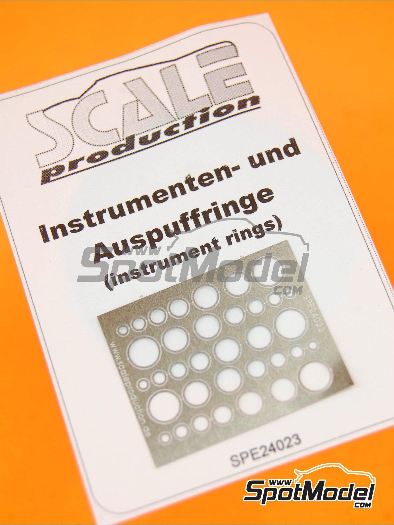 Embellecedores para velocimetros - Instrument ring | Detalle fabricado por Scale Production (ref.SPE24023) image
