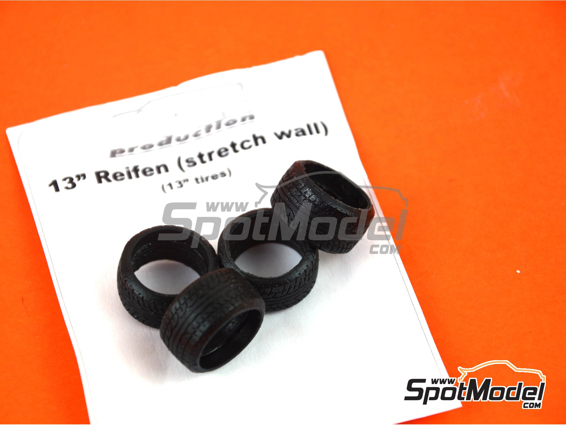 "Image 3: 13"" stretch wall tyre set 