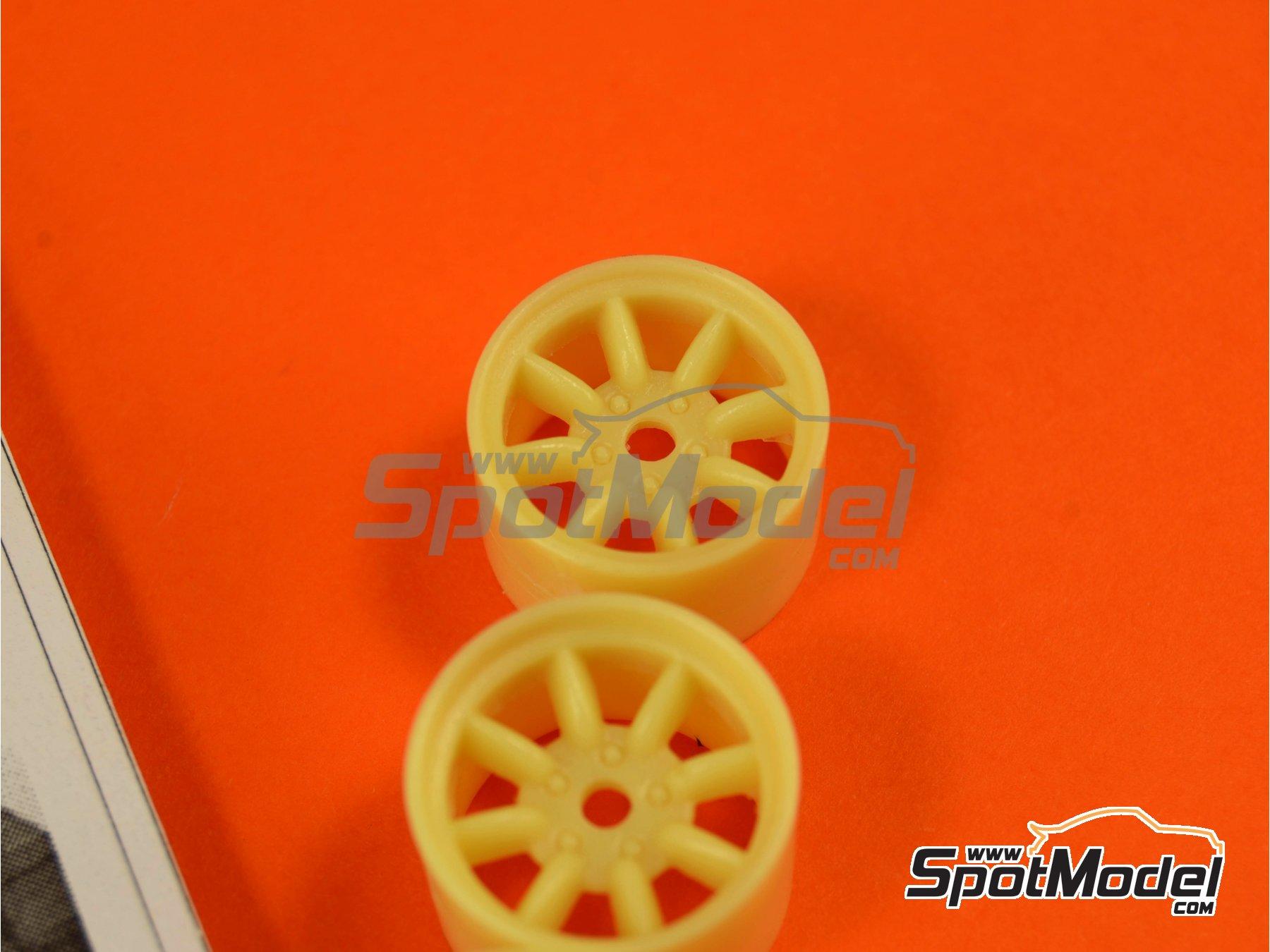 Image 4: Minilite de 15 pulgadas para Porsche | Llantas en escala1/24 fabricado por Scale Production (ref.SPRF24067)