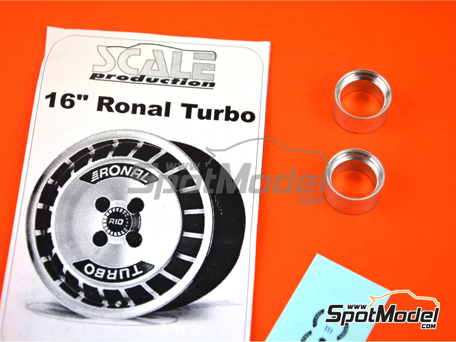 Image 3: Ronal Turbo 16 inches | Rims in 1/24 scale manufactured by Scale Production (ref. SPRF24083)