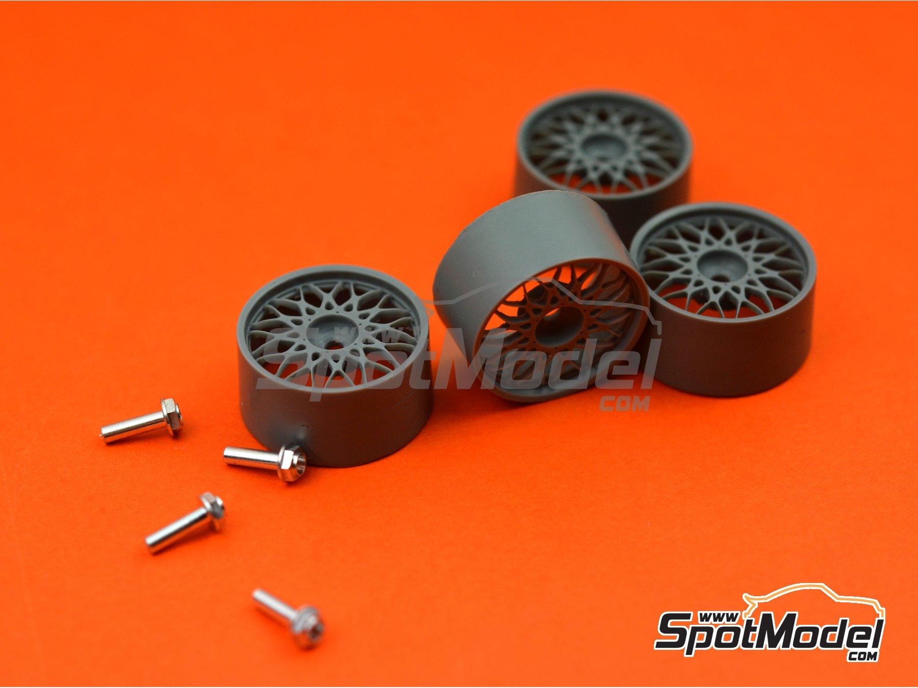 Image 5: BBS DTM 18 pulgadas | Llantas en escala1/24 fabricado por Scale Production (ref.SPRF24123)