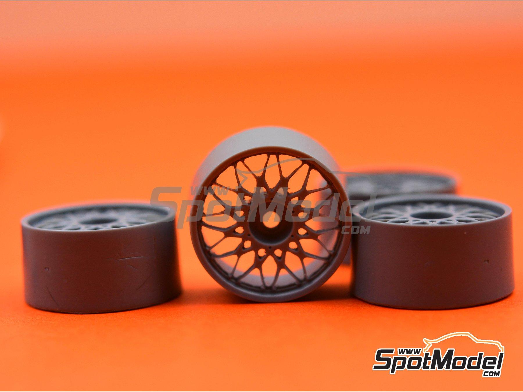 Image 6: BBS DTM 18 pulgadas | Llantas en escala1/24 fabricado por Scale Production (ref.SPRF24123)