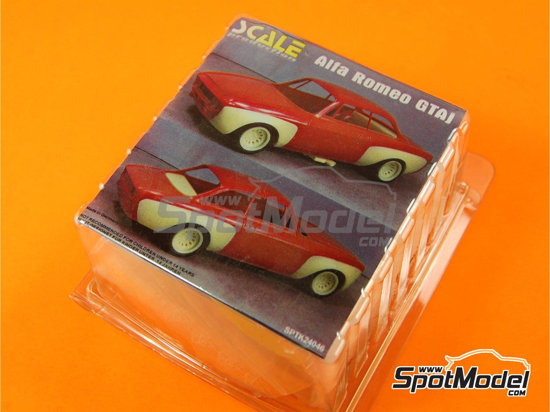 Image 1: Alfa Romeo GTAj   Transkit en escala1/24 fabricado por Scale Production (ref.SPTK24046)