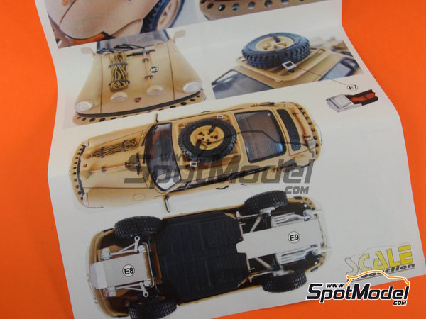 Image 6: Porsche 911 SC Safari Brandenburg Racing | Transkit en escala 1/24 fabricado por Scale Production (ref. SPTK24055)