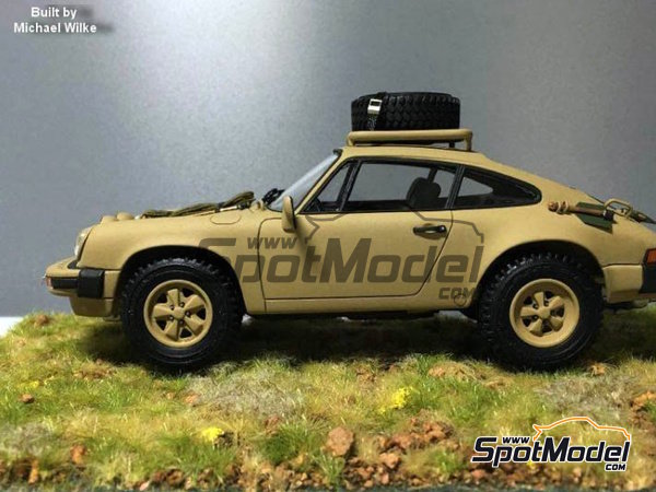 Image 20: Porsche 911 SC Safari Brandenburg Racing | Transkit en escala 1/24 fabricado por Scale Production (ref. SPTK24055)
