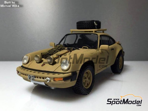Image 21: Porsche 911 SC Safari Brandenburg Racing | Transkit en escala 1/24 fabricado por Scale Production (ref. SPTK24055)