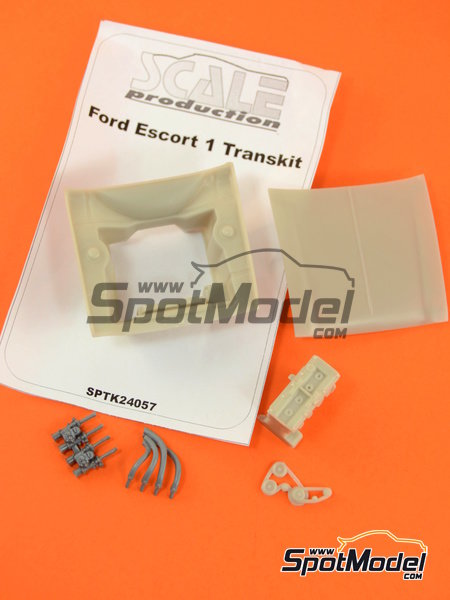 Ford Escort RS1600 Mk I BDA | Engine in 1/24 scale manufactured by Scale Production (ref.SPTK24057-BDA) image